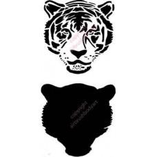 L001 tiger stencil